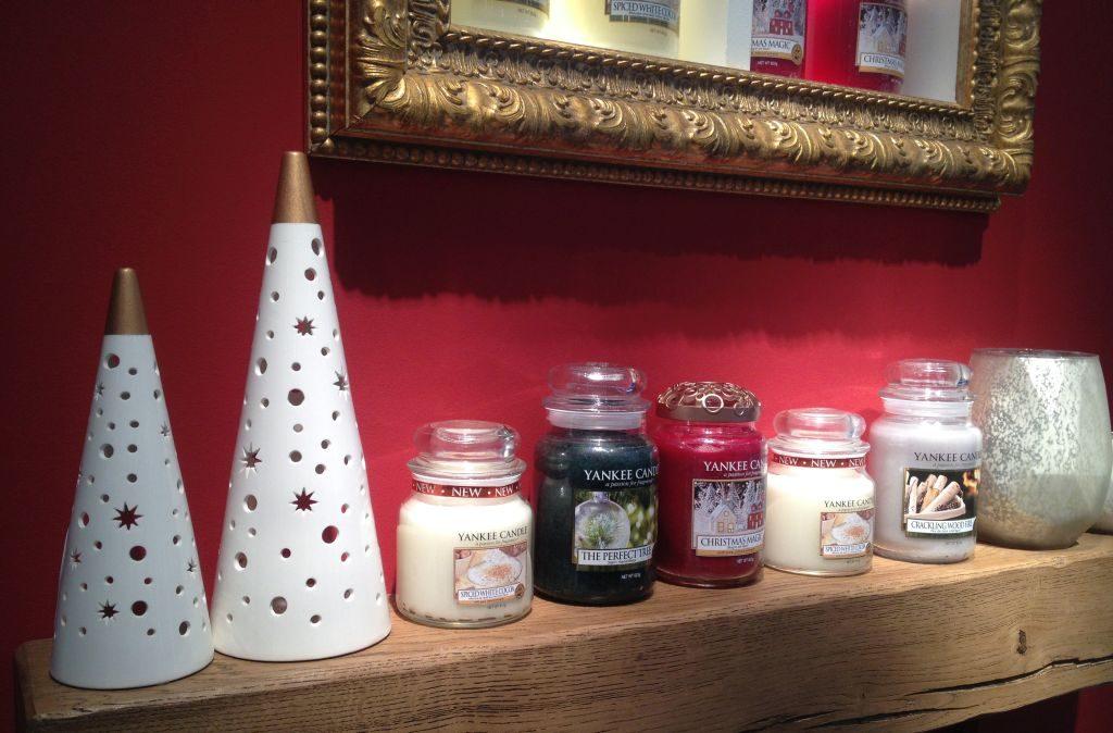 Die neuen Weihnachtsdüfte von Yankee Candle