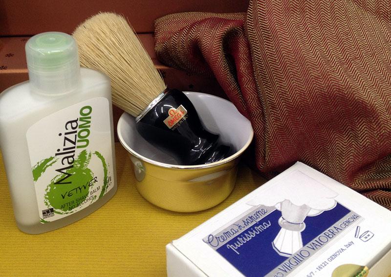 Alles für die professionelle Rasur