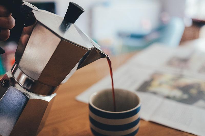 Das allmorgendliche Espressoritual