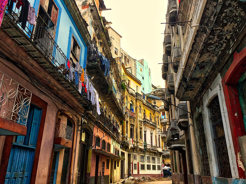 Gasse in Havanna