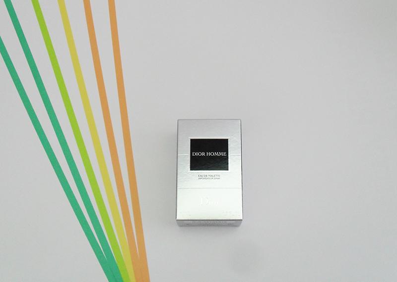 Die Verpackung von Dior Homme von Dior
